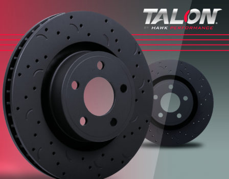 Hawk HTC4251 Talon Drilled and Slotted Rotors See More Info for Applications Fro